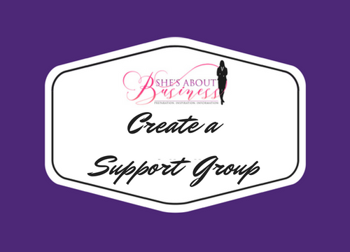 Create a Support Group